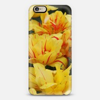 Yellow tulips iPhone 6s case by littlesilversparks | Casetify