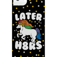 LATER H8ERS IPHONE CASE - PREORDER