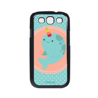 Samsung Galaxy S3 Phone Case - Happy Horn the Narwhal Case for Samsung Galaxy S3