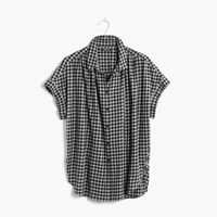 Central Shirt in Gingham Check : shopmadewell AllProducts | Madewell