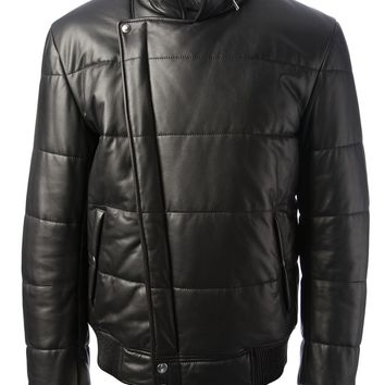 Alexander Mcqueen Padded Leather Jacket