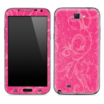 Subtle Pink Laced Pattern Skin for the Samsung Galaxy Note 1 or 2