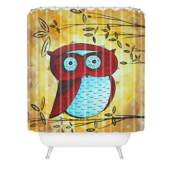 Madart Inc. Peekaboo Shower Curtain