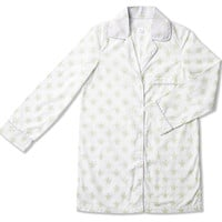 Audrey Turtle Nightshirt, White, Pajamas
