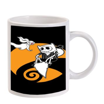 Gift Mugs | Adventure Time With Jack Skellington Ceramic Coffee Mugs