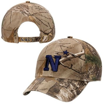 Navy Midshipmen '47 Brand Clean Up Adjustable Hat – Realtree Camo