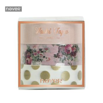 NEVER Rose Series Washi Tape