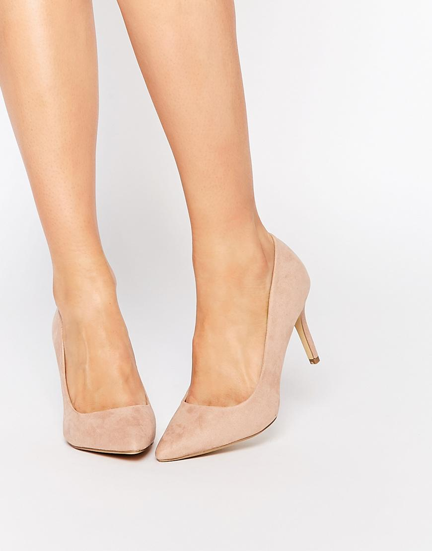 Court Shoes Pointed Toe Nude