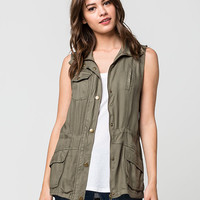 ASHLEY Safari Womens Vest | Vests