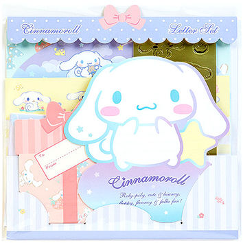 Buy Sanrio Cinnamoroll Die Cut Scalloped Letter Set at ARTBOX