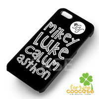 5SOS Members Name - 21z for  iPhone 6S case, iPhone 5s case, iPhone 6 case, iPhone 4S, Samsung S6 Edge