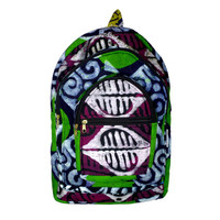 Hippie Backpack / Tribal Backpack / African Backpack / Festival Backpack / Patchwork Backpack / Batik Backpack / Made in Ghana, West Africa