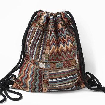 Ibiza Tribal Ethnic Backpack