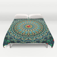 Jewel of the Nile Duvet Cover by Peter Gross