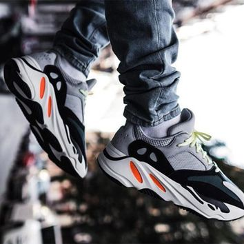 ADIDAS YEEZY BOOST 700 Tide brand fashion retro men and women thick platform old shoes sneakers 1#