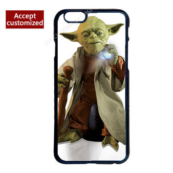 Yoda Star Wars Durable Plastic Phone Cover Case for iPhone 4 4S 5 5S 5C 6 6S 7 Plus iPod Touch 4 5 6 LG G2 G3 G4