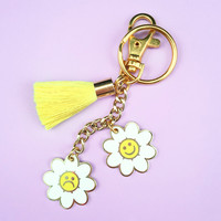Flower Power Keychain
