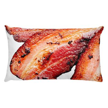 BACON GIFTS - Birthday Gift For Men - Funny Pillow - Bacon Gifts - Gifts for Boyfriend Husband Brother - Bacon Pillow, Man Cave!