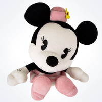 disney parks minnie mouse cute bobble head plush new with tags