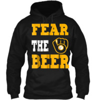 Fear The Beer Brewers  Pullover Hoodie 8 oz