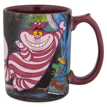Disney Parks Cheshire Cat Ceramic Coffee Tea Mug New