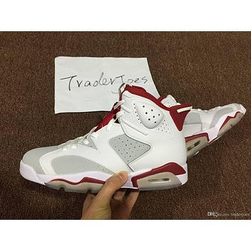 2017 new basketball shoes mens air retro 6 black cat alternate white grey red chameleon for men sneakers us5 5 us13 athletics shoes