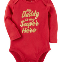 Super Hero Daddy Collectible Bodysuit