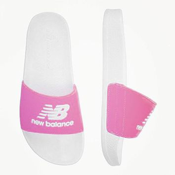 New Balance Fashion Casual All-match Shoes Slippers B-PSXY Pink