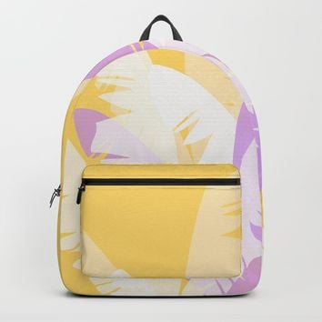 The Pale Banana Tree Backpack by mirimo