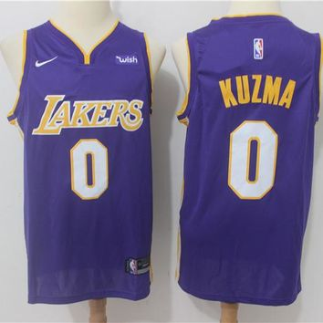 LA Lakers 0 Kyle Kuzma Swingman Jersey