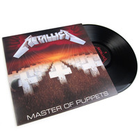 Metallica: Master Of Puppets Vinyl LP