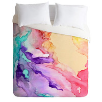 Rosie Brown Color My World Duvet Cover Queen Sample Sale - Luxe Duvet Cover / Queen / Duvet Cover Only