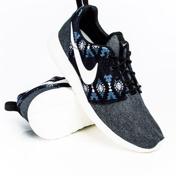 Nike Roshe One Print Black/Anthracite/Cool Grey Sneaker