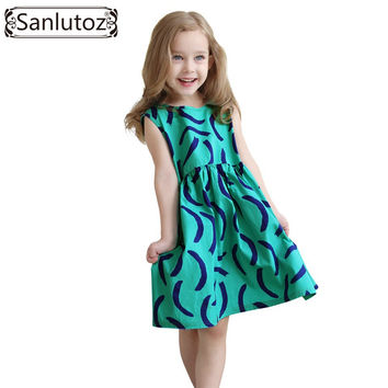Kids Clothes Cotton Children Clothing for Girls Toddler Summer Beach Party Holiday Brand