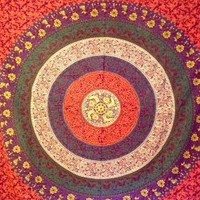 Mandala Tapestry 4 Double