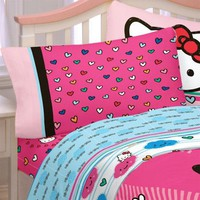 Hello Kitty Bed Sheet Set Free Time Bedding Accessories