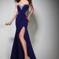 Tony Bowls Evenings Dress TBE21393 at Peaches Boutique