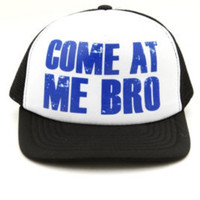 Guys Accessories | Come At Me Bro Hat