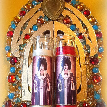 Saint Siouxsie Sioux Prayer Candle, The Patron Saint of The Banshees