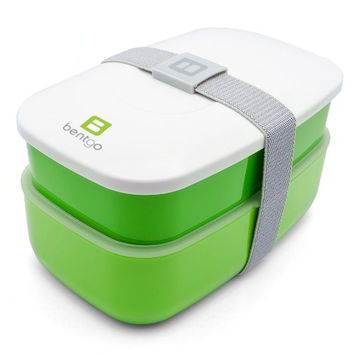 Bentgo All-in-One Stackable Lunch/Bento Box, Green