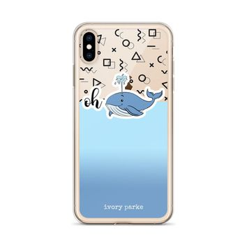 Oh Whale II iPhone Case