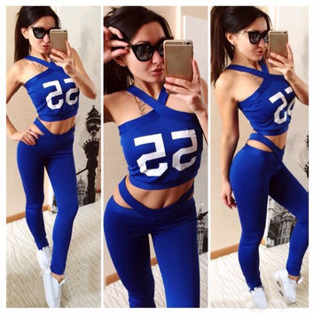 Hot Sale Women's Fashion Print Sportswear Set [9115641415]