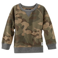 French Terry Camo Pullover