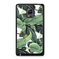 Tropical Banana Leaves Pattern Samsung Galaxy Note Edge case