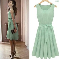 CHERRYDRESS single piece vest skirt Chiffon 8039 from Fashion Accessories Store