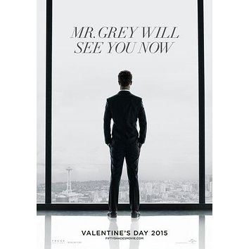Fifty Shades Of Grey Movie Poster 11inx17in Wall Art