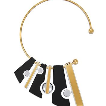 Tory Burch Geo Collar Necklace