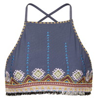 Aztec High Neck Bikini Top - New In This Week - New In