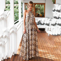 Summer Women's Fashion Prom Dress Chiffon One Piece Dress [4966228868]