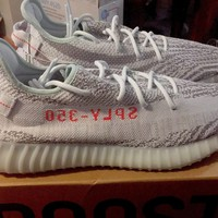 YEEZY BOOST 350 v2 BLUE TINT SIZE 14 100% AUTHENTIC
